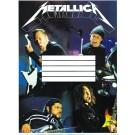 Наклейка 180х240 мм «Metallica»