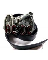 Ремень кожаный AC/DC