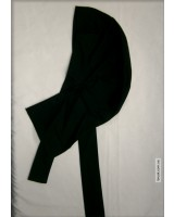 Бандана  на завязках черная