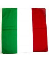Банадана красно-бело-зеленая