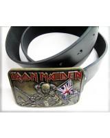 Ремень кожаный Iron Maiden
