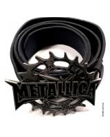 Ремень кожаный Metallica