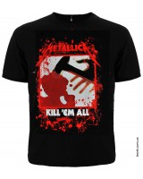 Футболка  METALLICA KILL'EM ALL