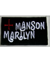 Нашивка  «Marilyn Manson»