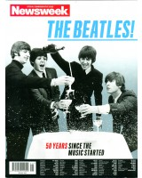 Журнал Newsweek's 50 year Beatles  на англ.языке