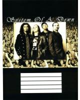 Наклейка 180х240 мм «System of a Down»